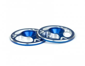 Triad Wing Buttons | Blue