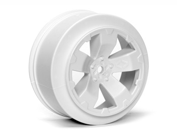 Sabertooth SC10 +3mm Wheel | White | Pair