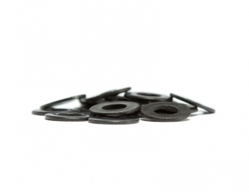 M3 Flat Black SS Washer | 20 Pack