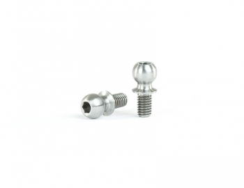 4.9x5mm Titanium Ball Stud | 2 pack