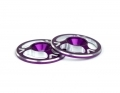 Triad Wing Buttons | Purple