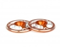 Triad Wing Buttons | Orange