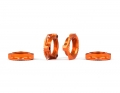 Triad 17mm Light Wheel Nuts | Orange | 4pcs