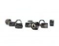 M3 Black Steel Locknut | 10 Pack